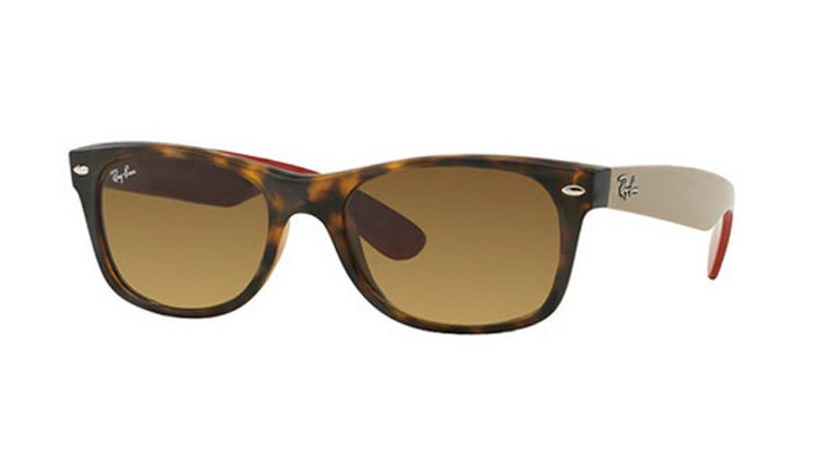 Ray-Ban RB 2132 618185 New Wayfarer Sunglasses-1