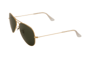 Ray-Ban RB 3025 001/57 Aviator Sunglasses-4