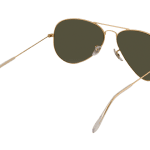 Ray-Ban RB 3025 001/58 Aviator Sunglasses-9