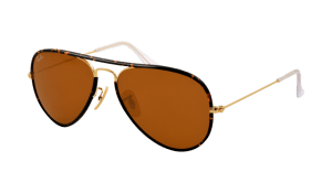 Ray-Ban RB 3025JM 001 Aviator Sunglasses-1