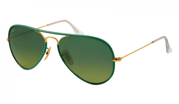 Ray-Ban RB 3025JM 001/3M Aviator Sunglasses-1
