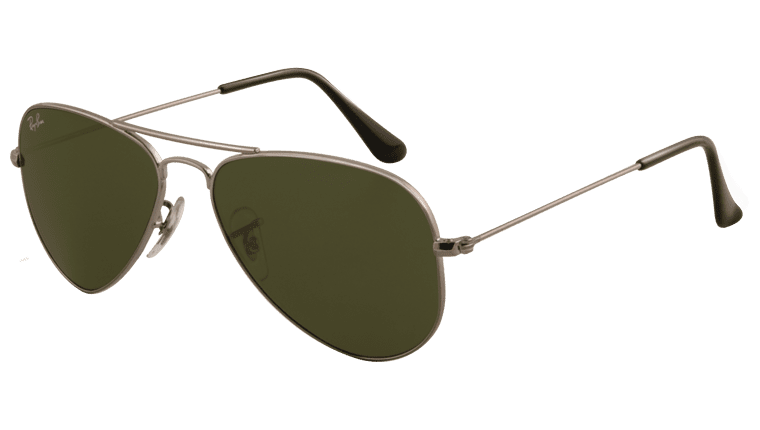 Ray-Ban RB 3044 W3100 Aviator Small Sunglasses-1