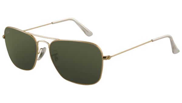 Ray-Ban RB 3136 001 Caravan Sunglasses-1