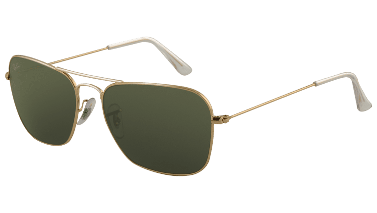 Ray-Ban RB 3136 001 Caravan Sunglasses-1