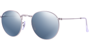 Ray-Ban RB 3447 019/30 Round Metal Sunglasses-1
