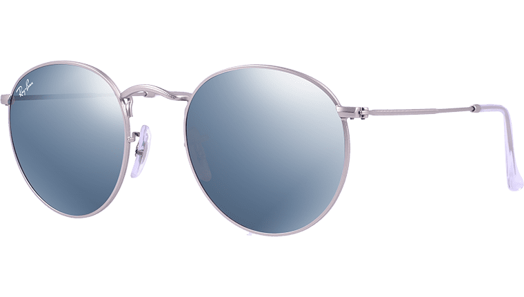 Ray-Ban RB 3447 019/30 Round Metal Sunglasses-1