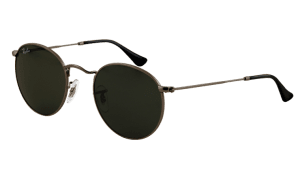 Ray-Ban RB 3447 029 Round Metal Sunglasses-1
