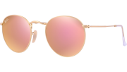 Ray-Ban RB 3447 112/Z2 Round Metal Sunglasses-1