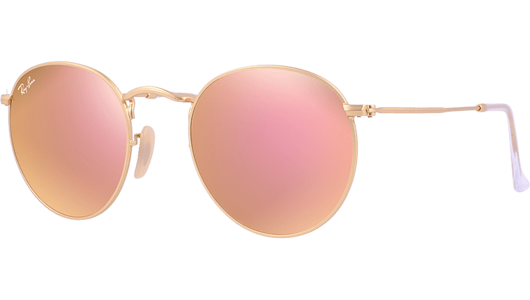 Ray-Ban RB 3447 112 Z2 Mirror Round Metal Sunglasses  84b9fcd3a1