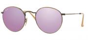 Ray-Ban RB 3447 167/4K Round Metal Sunglasses-1