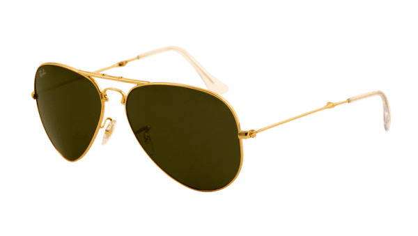Ray-Ban RB 3479 001 Folding Aviator Sunglasses-1