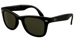 Ray-Ban RB 4105 601/58 Folding  Wayfarer Sunglasses-1