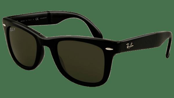 Ray-Ban RB 4105 601/58 Folding  Wayfarer Sunglasses-1
