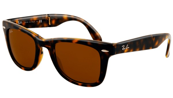 Ray-Ban RB 4105 710 Folding  Wayfarer Sunglasses-1