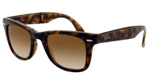 Ray-Ban RB 4105 710/51 Folding  Wayfarer Sunglasses-1