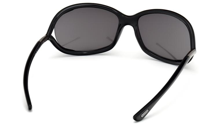 80687c165a Lyst - Tom Ford Jennifer Opentemple Sunglasses Blackgunmetal in Black Tom  Ford FT0008 199 Jennifer Sunglasses in Black