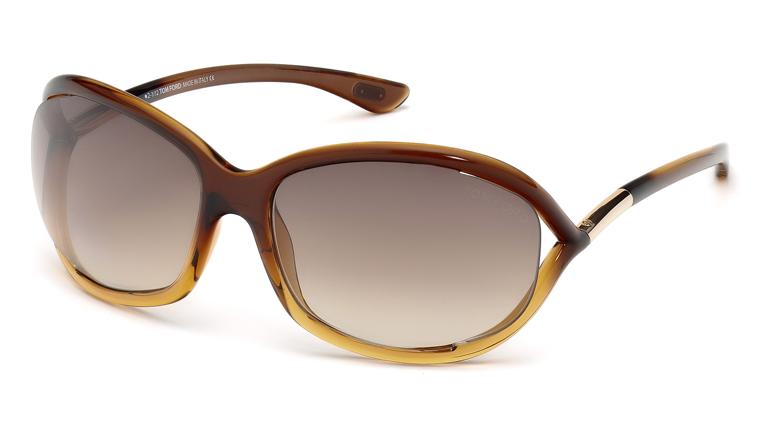 Tom Ford FT0008 50F Jennifer Sunglasses-1