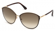 Tom Ford FT0320 28F Penelope Sunglasses-1