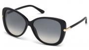 Tom Ford FT0324 01B Linda Sunglasses-1