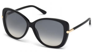 Tom Ford FT0324 01B Linda Sunglasses-1