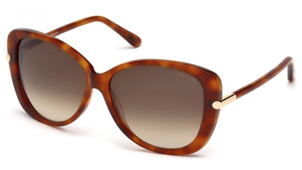 Tom Ford FT0324 56F Linda Sunglasses-1