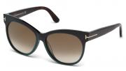 Tom Ford FT0330 98G Saskia Sunglasses-1
