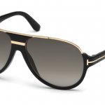 Tom Ford FT0334 01P Dimitry Sunglasses-1