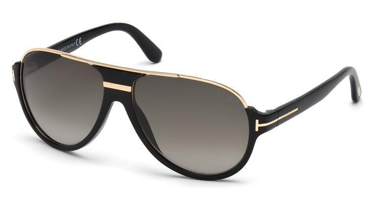 Tom Ford FT0334 01P Dimitry Sunglasses-1