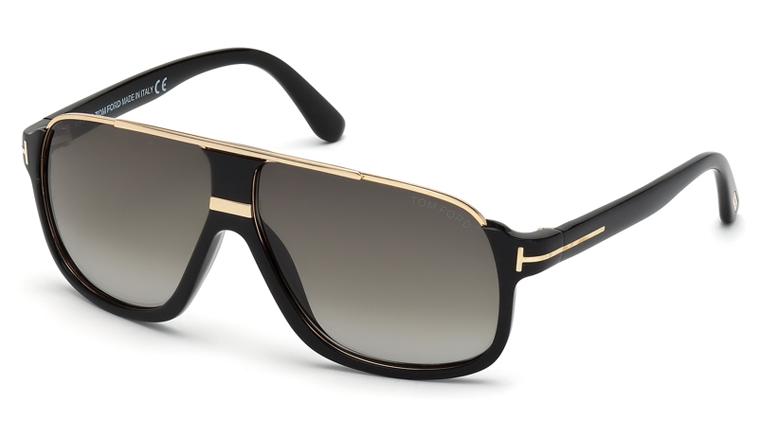 Tom Ford FT0335 01P Eliott Sunglasses-1