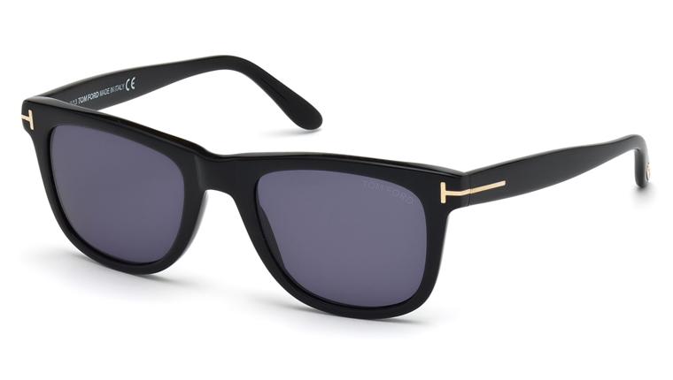 Tom Ford FT0336 01V Leo Sunglasses-1