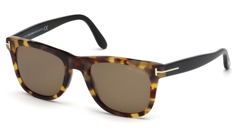 ea7251fd1c3f1 Tom Ford FT0336 55J Leo Sunglasses-1