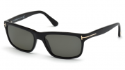 Tom Ford FT0337 01N Hugh Sunglasses-1