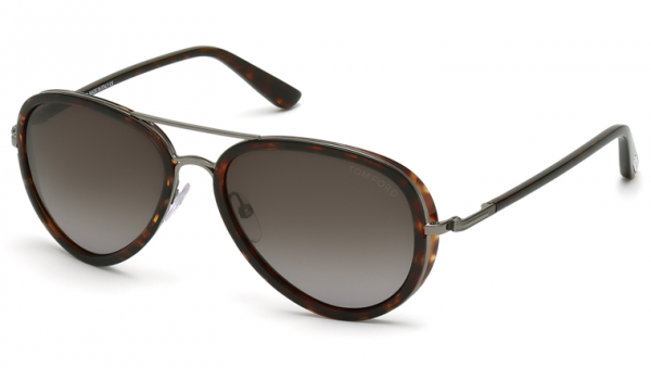 Tom Ford FT0341 09P Miles Sunglasses-1