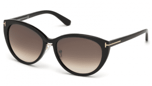 Tom Ford FT0345 01B Gina Sunglasses-1