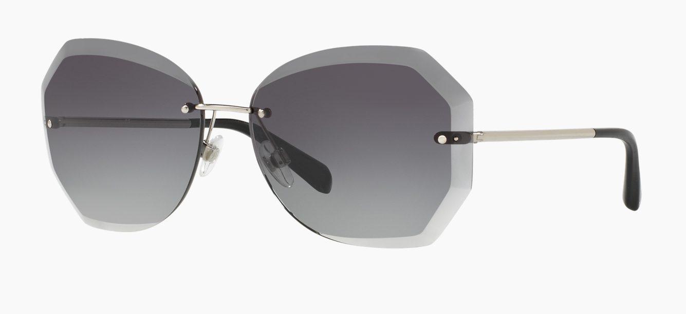 Rimless Chanel Glasses : Chanel CH 4220 C124 3C Rimless Sunglasses Sunglasses Direct
