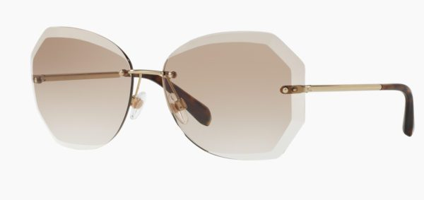 Chanel CH 4220 C395 3G Rimless Sunglasses