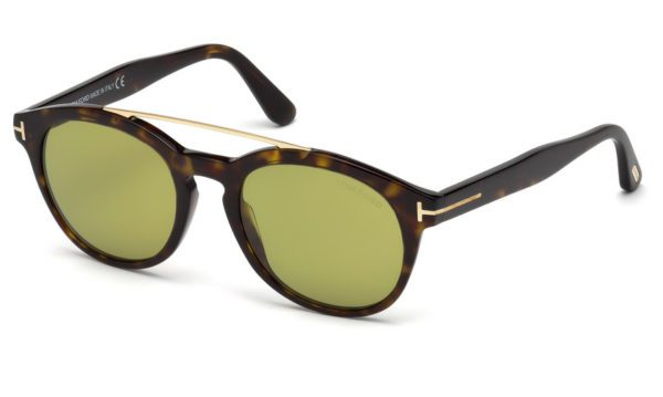 Tom Ford FT 515 Newman 52N Havana Sunglasses