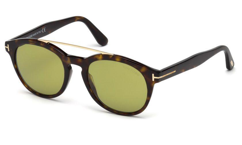 Tom Ford FT 515 Newman 52N Havana Sunglasses
