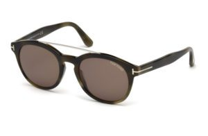 Tom Ford FT 515 Newman 55E Havana Sunglasses