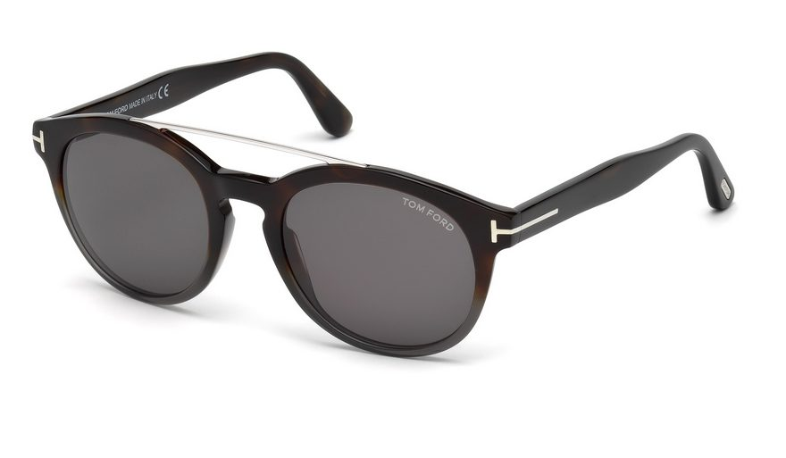 Tom Ford FT 515 Newman 56A Havana Sunglasses