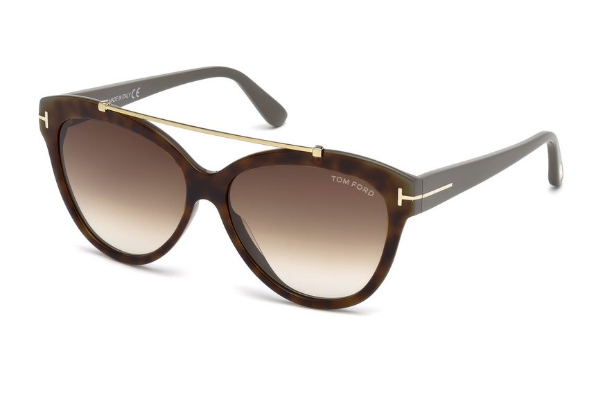 Tom Ford FT 518 Livia 53F Sunglasses
