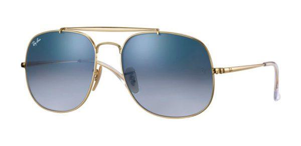Ray Ban 3561 001 3F General Sunglasses