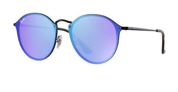 Ray Ban 3574N 153 7V Blaze Round Sunglasses
