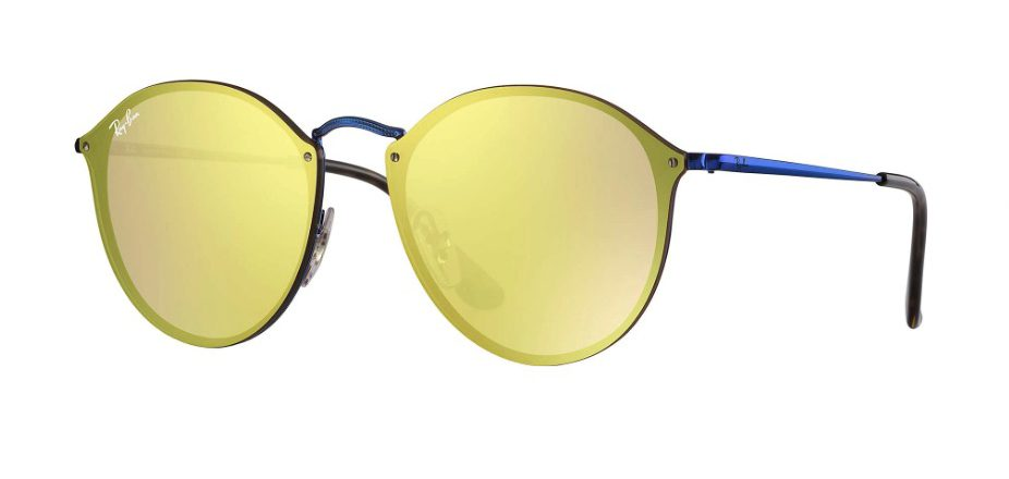 Ray Ban 3574N 90387J Blaze Round Sunglasses