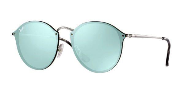 Ray Ban 3574N 003 30 Blaze Round Sunglasses