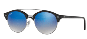 Ray-Ban RB4346 62 Clubround double bridge
