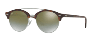 Ray-Ban RB4346 625 Clubround double bridge