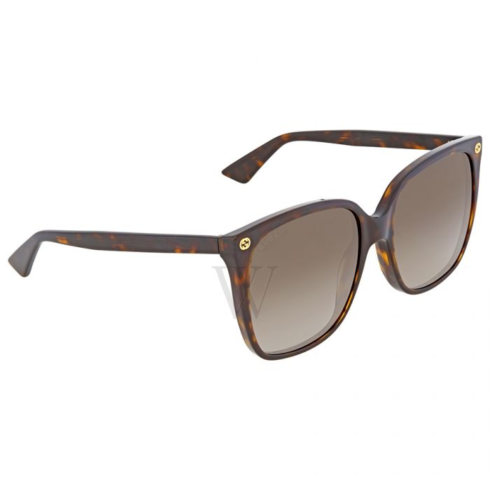 3bbfe1eb9e GUCCI 0022s 003 Tortoise shell over size statement sunglasses