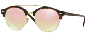 Ray-Ban RB4346 990/7O Clubround double bridge